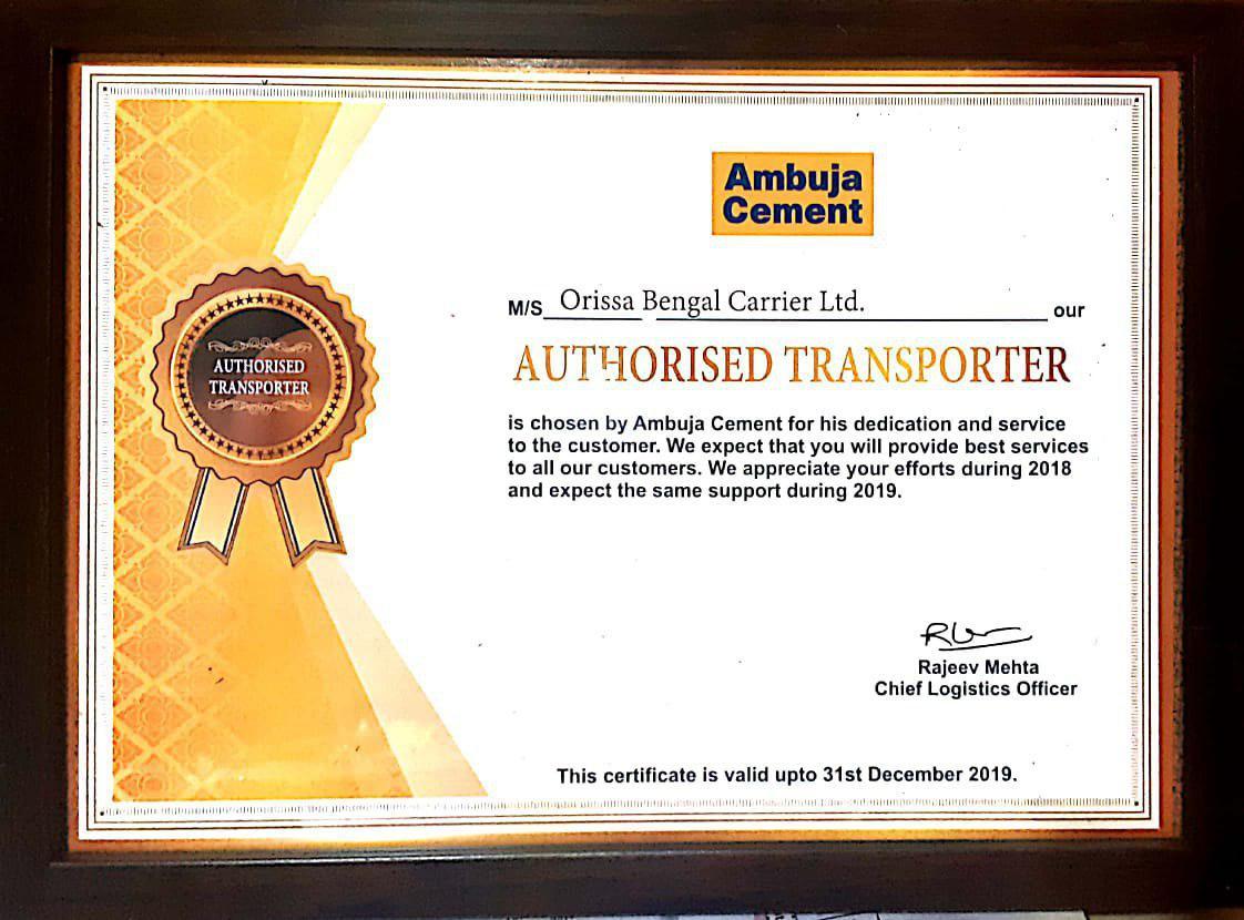 Orissa Bengal Carrier Ltd